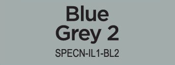 Spectrum Noir Illustrator - Blue Grey 2 (BGR2)