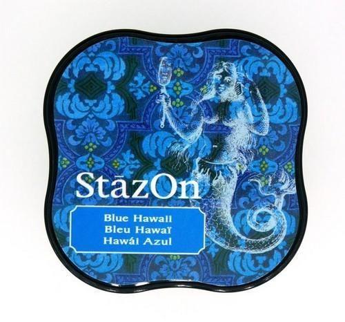 Stazon inktkussen Midi Blue Hawaii SZ-MID-65