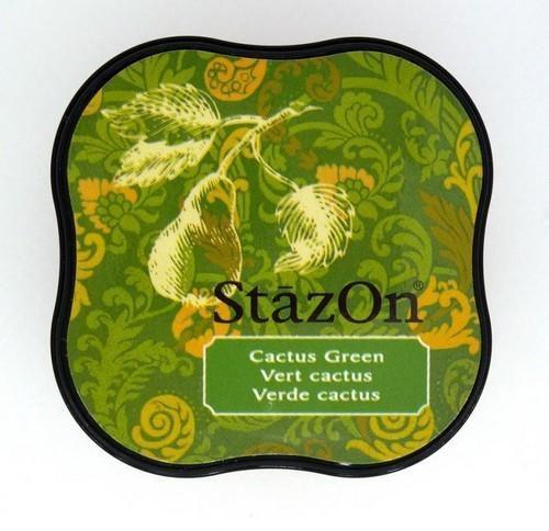 Stazon inktkussen Midi Cactus Green SZ-MID-52