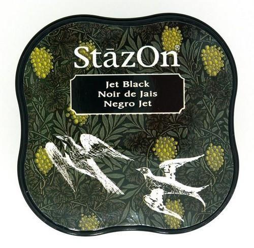 Stazon inktkussen Midi Jet Black SZ-MID-31