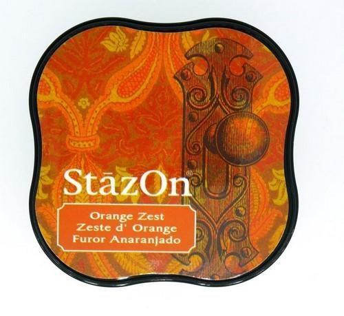 Stazon inktkussen Midi Orange Zest SZ-MID-71