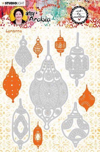Studio Light Art By Marlene Embossing Die Cut Stencil A. Arabia nr.11 97x147mm