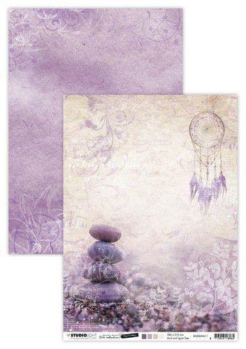 Studio Light Basis A4 Achtergrondpapier Jenine's Mindful Art 5.0 nr.11