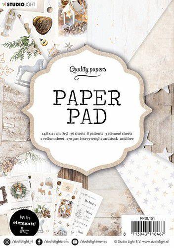 Studio Light Paper Pad A5 36 Sheets nr.151