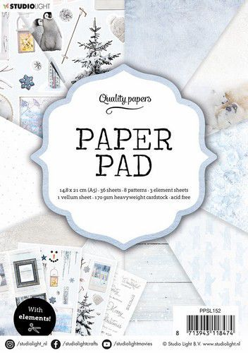 Studio Light Paper Pad A5 36 Sheets nr.152