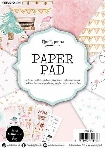 Studio Light Paper Pad A5 36 Sheets nr.154