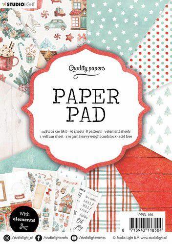 Studio Light Paper Pad A5 36 Sheets nr.155