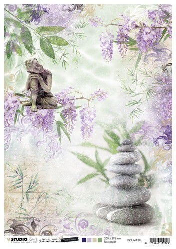 Studio Light Rice Paper A4 vel Jenine's Mindful Art 5.0 nr.28