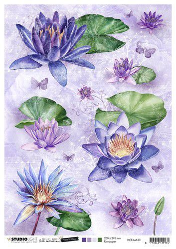 Studio Light Rice Paper A4 vel Jenine's Mindful Art 5.0 nr.33
