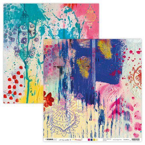 Studio Light Scrap ArtBy Marlene Scrap Artsy Arabia 304x304mm nr.04 304x304 mm