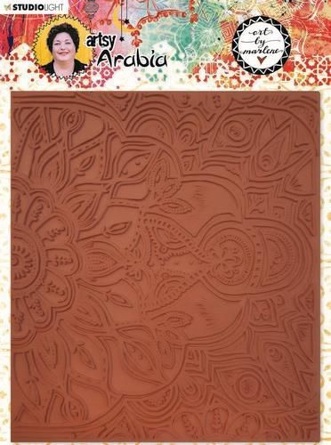 Studio Light Texture Plate Art By Marlene Artsy Arabia nr.04 15x17cm