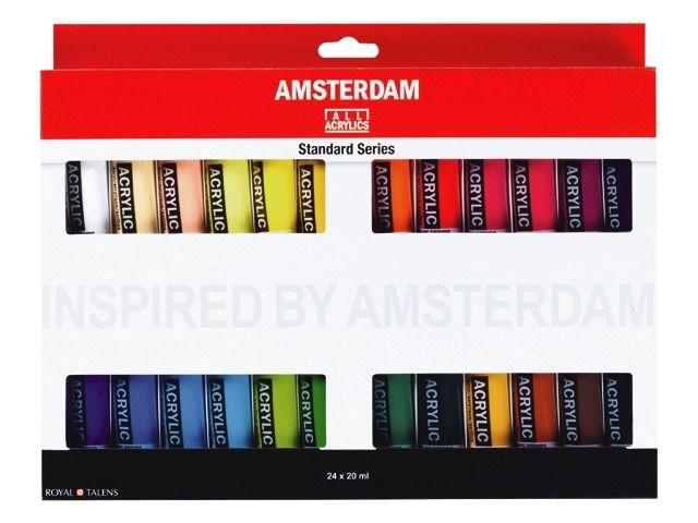 Amsterdam Acryl Standard 24x tube 20 ml