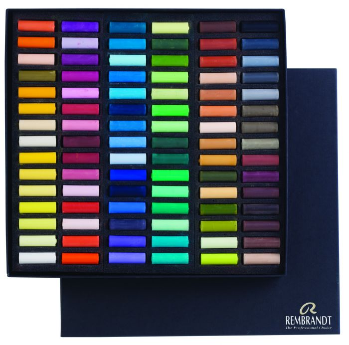 Rembrandt Softpastels Algemene collectie 90 halve pastels 300C90.5