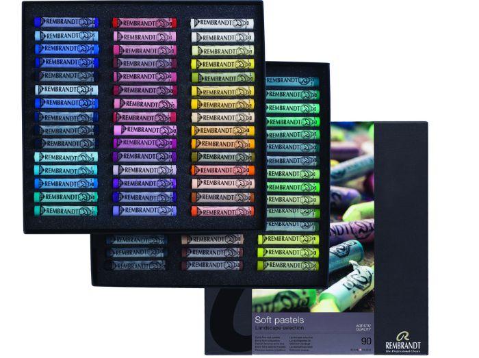 Rembrandt Softpastels landschap 90 hele pastels 300C90L