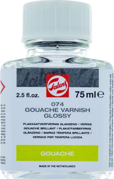 Talens Plakkaatvernis glanzend flesje 75 ml