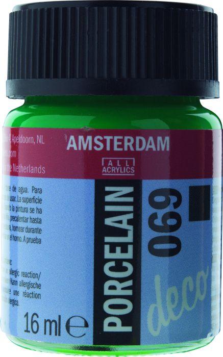 Amsterdam PORCELAIN Flacon 16ml BRIGHT GREEN OPAQUE
