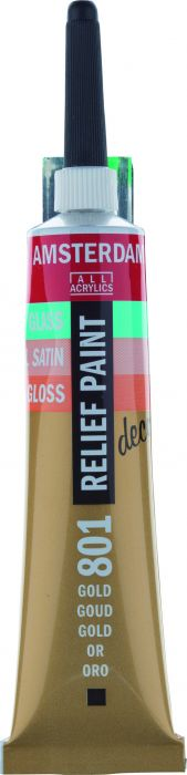 Amsterdam Reliefpaint Tube 20 ml GOLD