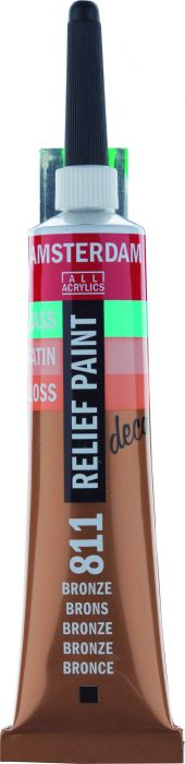 Amsterdam Reliefpaint Tube 20 ml BRONZE