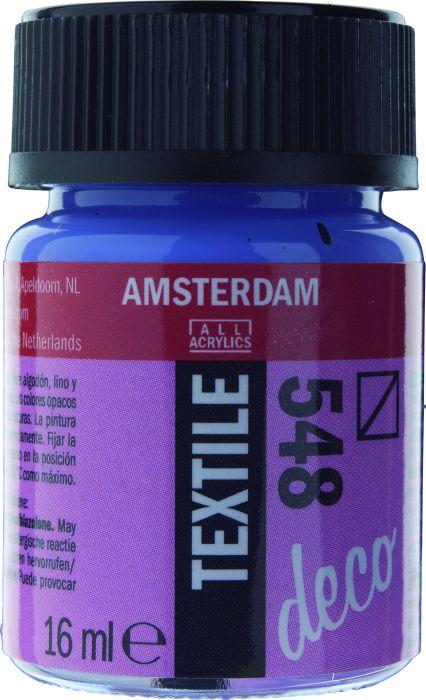 Amsterdam TEXTIEL Flacon 16ml BLUE VIOLET