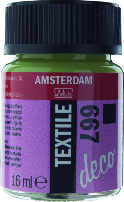 Amsterdam TEXTIEL Flacon 16ml SPRING GRN.OP
