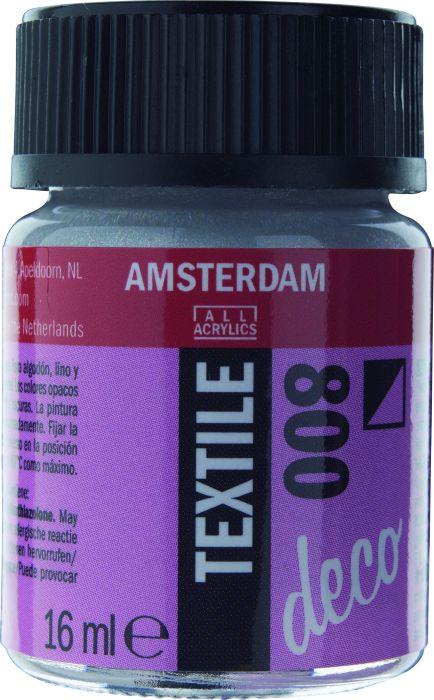 Amsterdam TEXTIEL Flacon 16ml SILVER