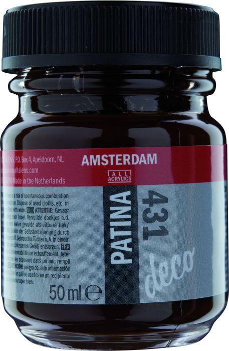 Amsterdam PATINA Flacon 50ML ANTIQUE BROWN