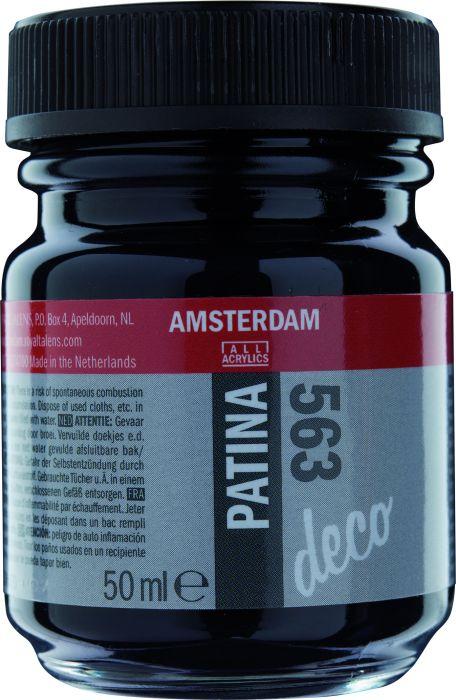 Amsterdam PATINA Flacon 50ML ANTIQUE BLUE