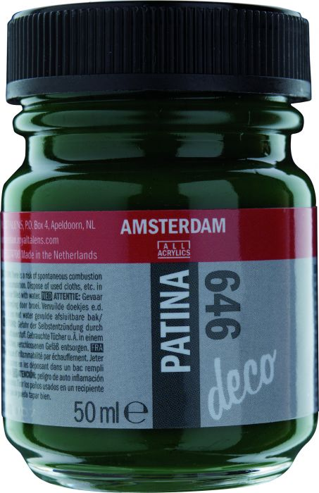 Amsterdam PATINA Flacon 50ML ANTIQUE GREEN
