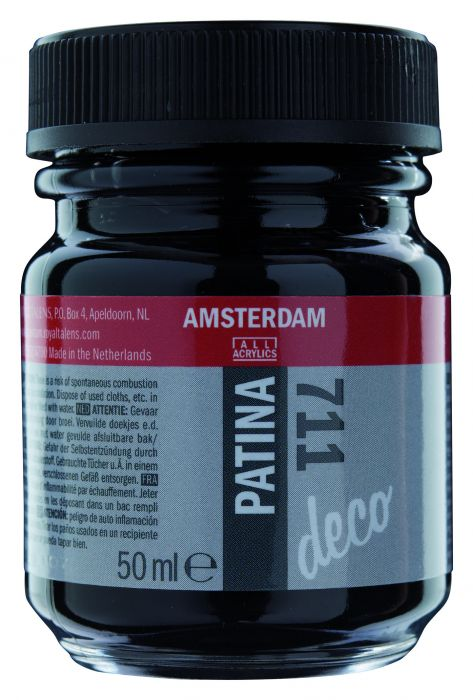 Amsterdam PATINA Flacon 50ML ANTIQUE BLACK