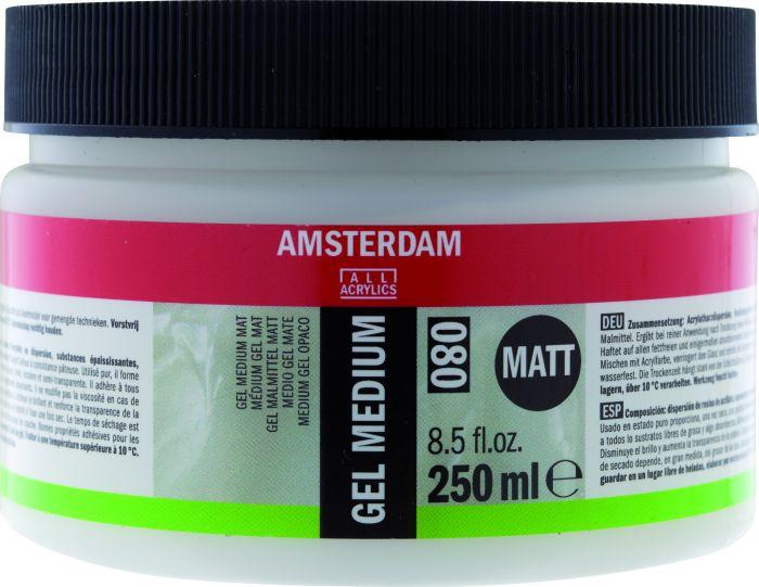 Amsterdam gel medium 080 mat 250 ml