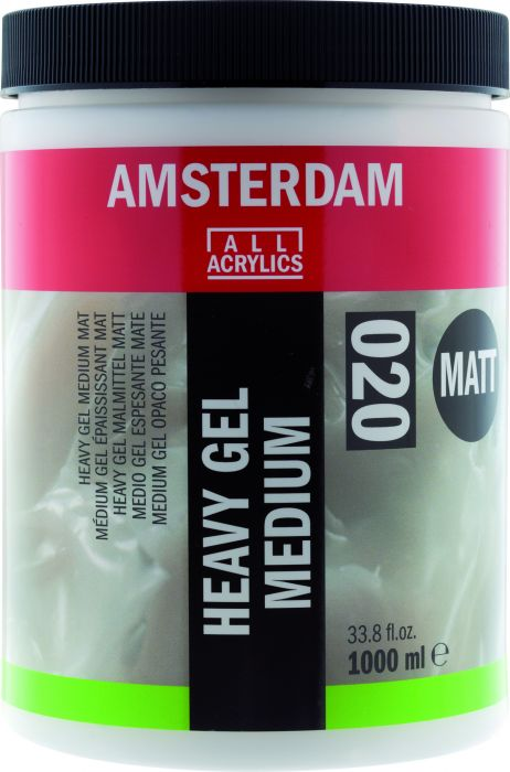 Amsterdam heavy gel medium mat 1000 ml