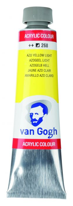 VAN GOGH ACRYLVERF AZO YELLOW LIGHT tube 40ml