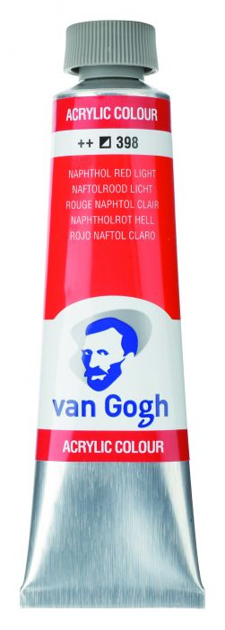 VAN GOGH ACRYLVERF NAPHTH.RED LIGHT tube 40ml