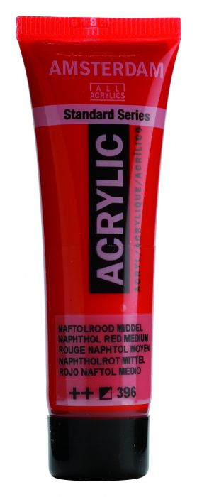 AMSTERDAM ACRYLVERF NAPHTHOL RED MEDIUM Tube 20ml