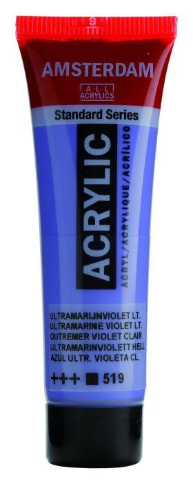 AMSTERDAM ACRYLVERF ULTRAMARINE VIOLET LIGHT Tube 20ml