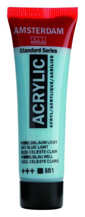 AMSTERDAM ACRYLVERF SKY BLUE LIGHT Tube 20ml