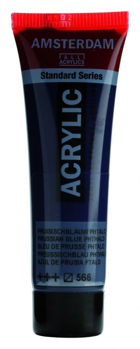 AMSTERDAM ACRYLVERF PRUSSIAN BLUE PHTHALO Tube 20ml