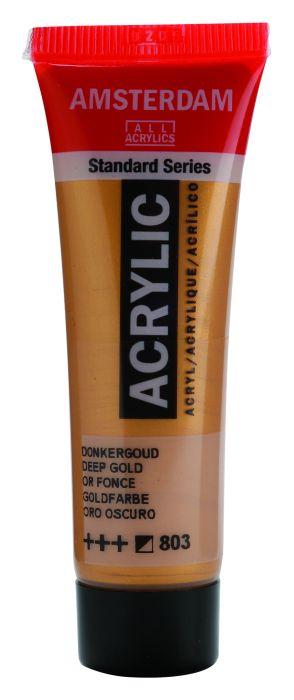 AMSTERDAM ACRYLVERF DEEP GOLD Tube 20ml