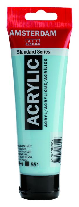 AMSTERDAM ACRYLVERF SKY BLUE LIGHT Tube 120ml