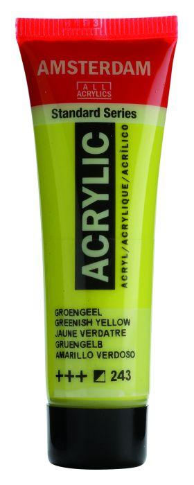 AMSTERDAM ACRYLVERF GREENISH YELLOW Tube 20ml