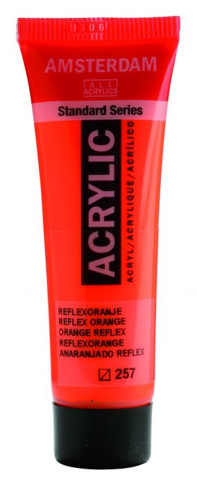 AMSTERDAM ACRYLVERF REFLEX ORANGE Tube 20ml