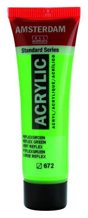 AMSTERDAM ACRYLVERF REFLEX GREEN Tube 20ml