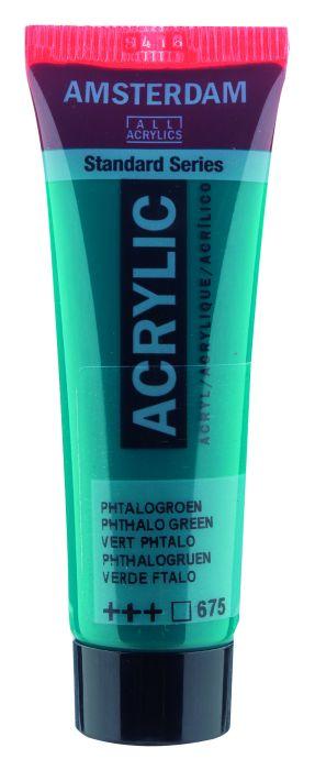 Amsterdam Acrylverf 20 ml Phtalogroen