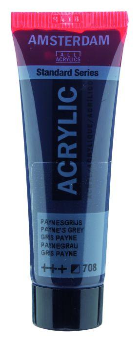 Amsterdam Acrylverf 20 ml Paynesgrijs