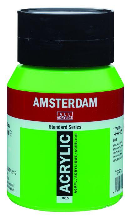 Amsterdam Acrylverf 500 ml Briljantgroen