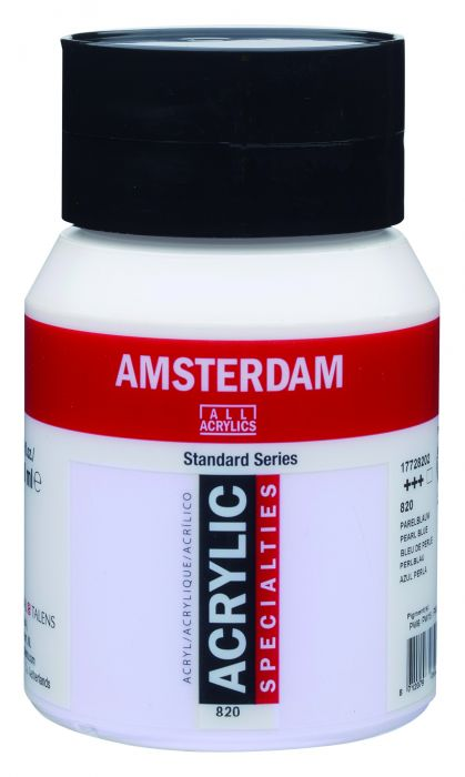 Amsterdam Acrylverf 500 ml Parelblauw