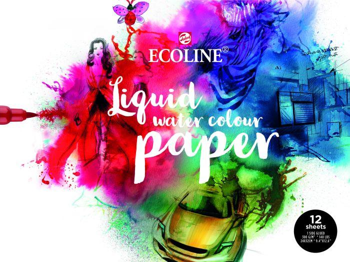 Ecoline Papierblok 24x30, FSC- MIX