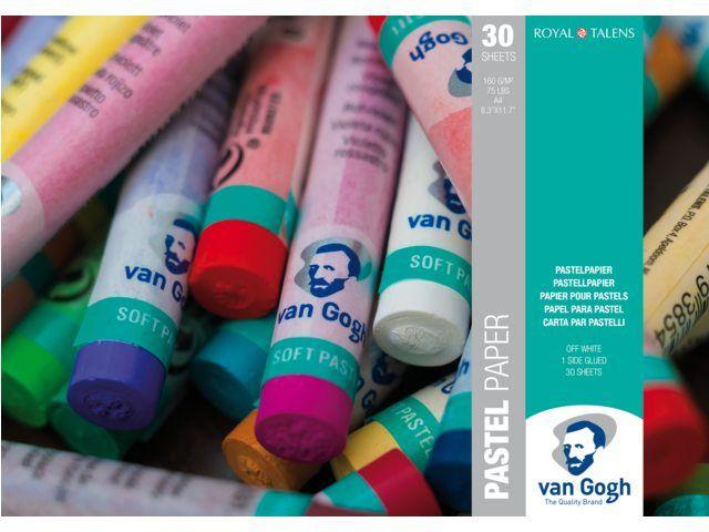 Van Gogh Pastelpapier A4, 160g , 30 vellen, FSC-MIX