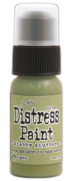 Tim Holtz Distress paint Shabby Shutters