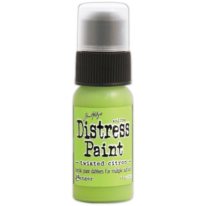 Tim Holtz Distress Paint Twisted Citron
